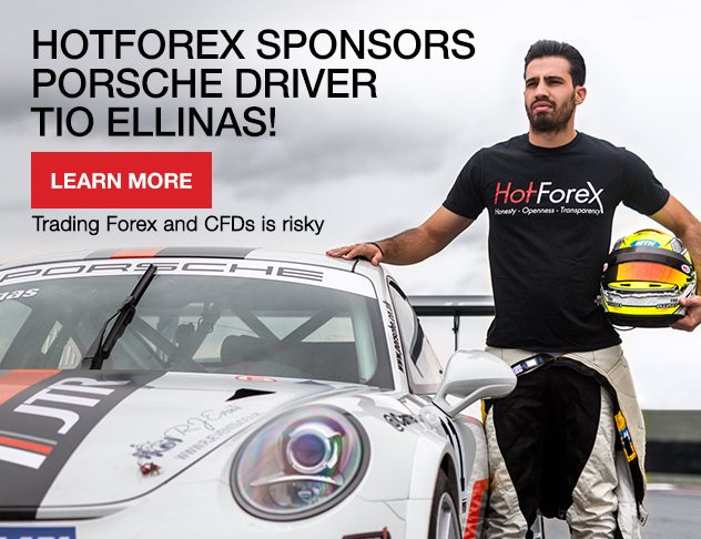 HotForex sponsors porsche driver Tio Ellinas